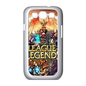 Samsung Galaxy S3 9300 Cell Phone Case White League Of Legends 001 CVXEYERTE29164 Plastic Design Phone Case