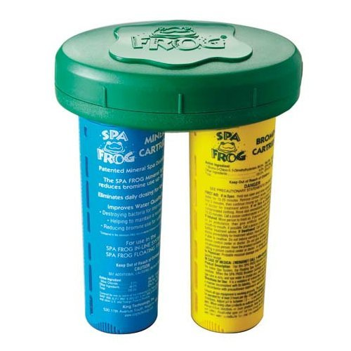 Hot King Technology 01143883 Spa Frog Floating System Bundled with Floating Buoy Pool Thermometer supplier