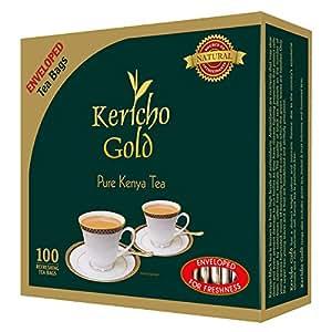 Amazon Com Finest Kenyan Kericho Gold Foil Enveloped Tea