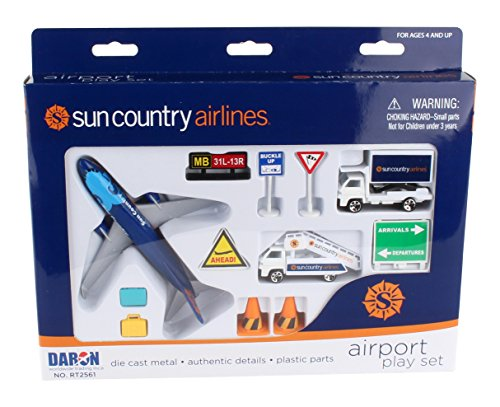 Daron Worldwide Trading Daron Sun Country Airport Play Set Playset
