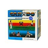 CanDo Latex-Free Exercise Band 5 Piece Set, 25 Yard