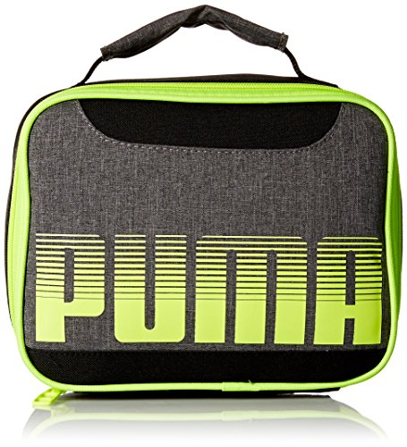 PUMA Little Boy's Puma Contender Lunch Box Accessory, gray/yellow, Youth