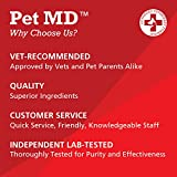 Pet MD Chlorhexidine Wipes XL with Aloe for Dogs