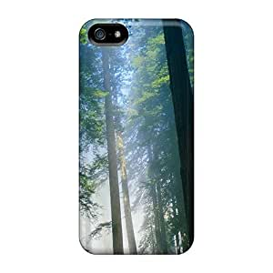For HTC One M9 Phone Case Cover Hard Back With Bumper Silicone Gel PC Forest