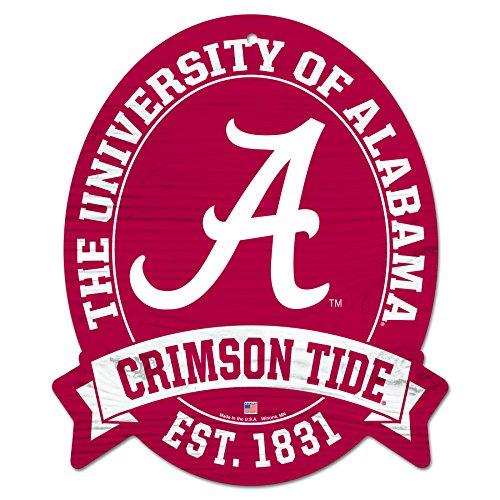 11X13 ALABAMA Crimson Tide Wood Street Sign (Alabama Street Sign)