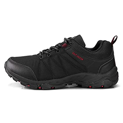 066db8162 Amazon.com: Hiking Shoes for Men Breathable Anti-Skid Mountain ...