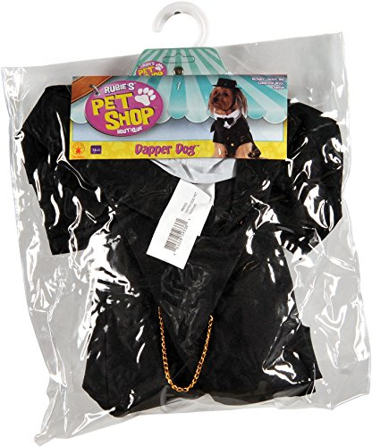Tails And Top Hat Costumes (Rubie's Dapper Dog Pet Costume, Large)