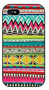 iPhone 5C Aztec Pattern - black plastic case / Art, hipster, tribal