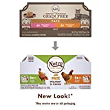 NUTRO PERFECT PORTIONS Grain Free Natural Adult Wet Cat Food Paté Real Turkey and Real Chicken Recipes Variety Pack, (24) 2.6 oz. Twin-Pack Trays Larger Image