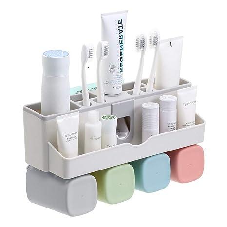 Amazon.com: Wissblue - Soporte multifuncional para cepillo ...