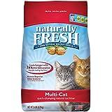 Naturally Fresh Litter 230021 Multi-Cat Clumping Cat Litter, 26 lb