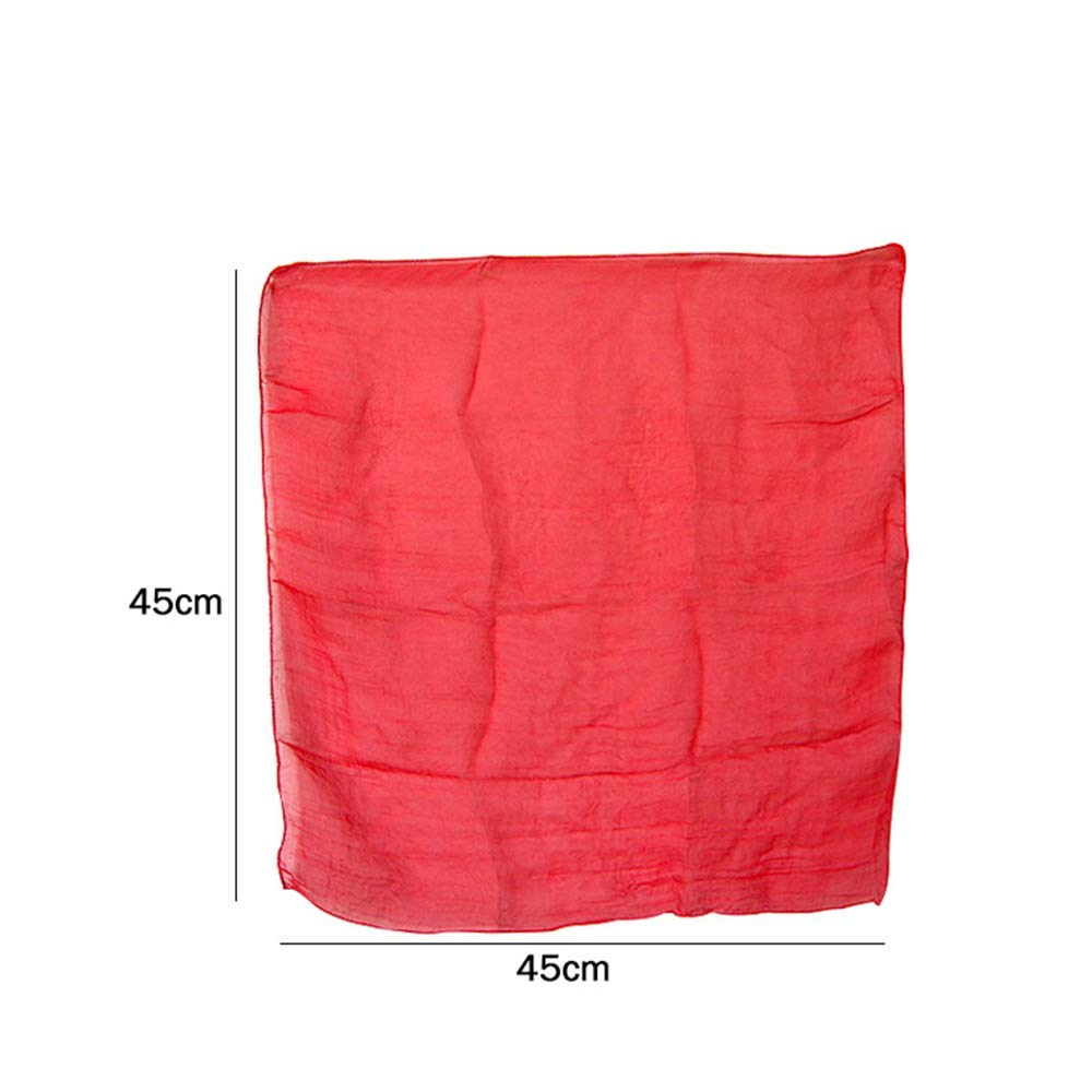 Scarf Penetrate Phone Close Up Magic Show for Professional Magician Gimmick WSNMING 2 Set Amazing Magic Tricks Performance Props Accessories Funny Silk Through Phone