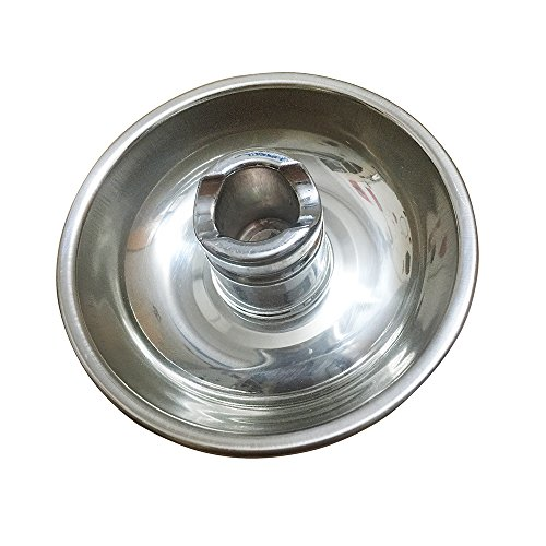 Moxa Roll Stick Extinguisher Holder With Ash Collector Tray Dish Stable Base (Stainless Steel Ashtray Insert)