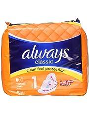 Zawsze klasyczne ręczniki higieniczne normalne 10 szt.