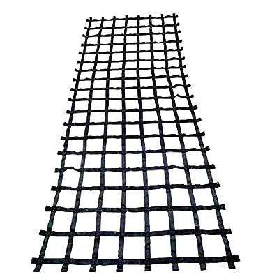 FONG 15 ft X 6 ft Climbing Cargo Net Black - Indoor Climbing net - Outdoor Cargo Webbing Net - Military Climbing Cargo Net (15): Toys & Games