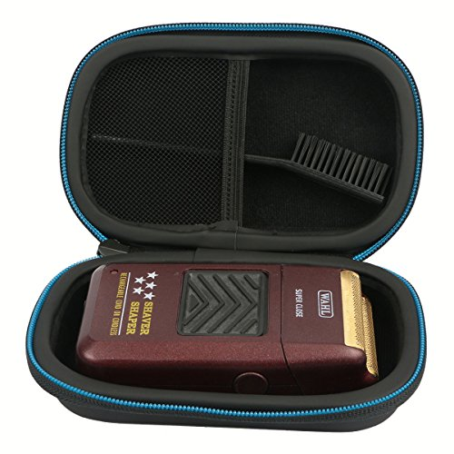 Baval Hard Case Travel Bag for Wahl Professional 5-Star Series Rechargeable Shaver Shaper 8061-100