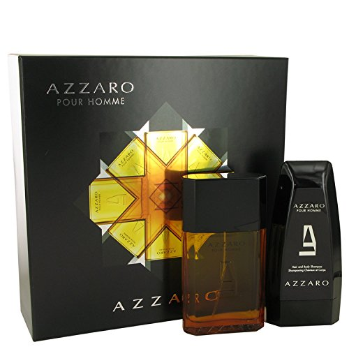 Azzarô Gift Set - 3.4 oz Eau De Toilette Spray + 5 oz Hair & Body Shampoo