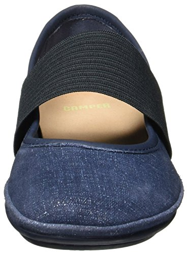 Camper Women Right Nina 21595-018 Ballet Flats Blue EyLQ6mETL
