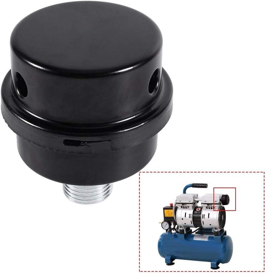 Nikou Silencer Air 1//2 Air Silencer Filtre MPT Compresseur Filtre /à air de Rechange for Moins dhuile Filtre /à air du compresseur