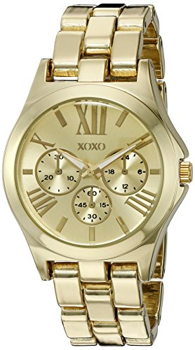 XOXO Women's Quartz Metal and Alloy Automatic Watch, Color:Gold-Toned (Model: XO5864)