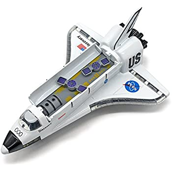 "Amazon.com: 5"" Diecast Pullback Space Shuttle: Toys & Games"