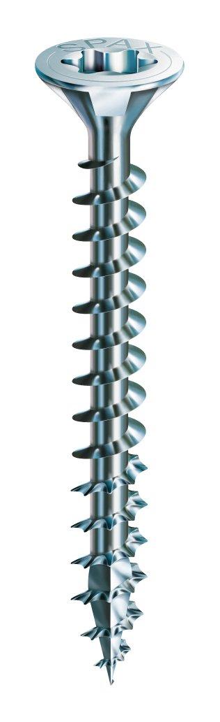 Senkkopf Kreuzschlitz Z2 SPAX Universalschraube aus Edelstahl rostfrei A2 200 St/ück 4,0 x 45 mm Teilgewinde 1087000400453 4CUT
