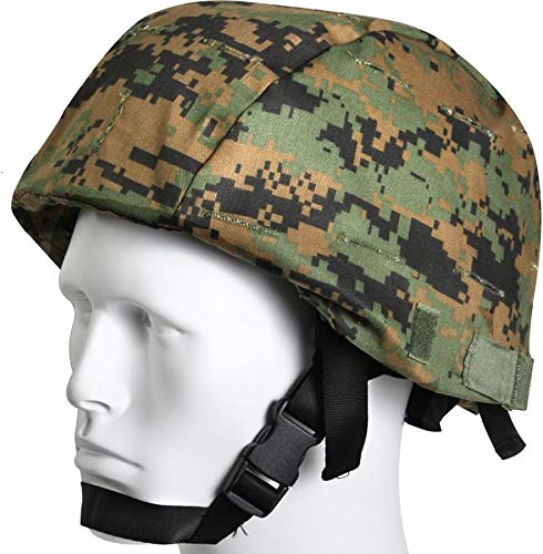 AccessoriesClothing New Woodland Digital Camouflage Tactical MARPAT MICH Helmet Cover