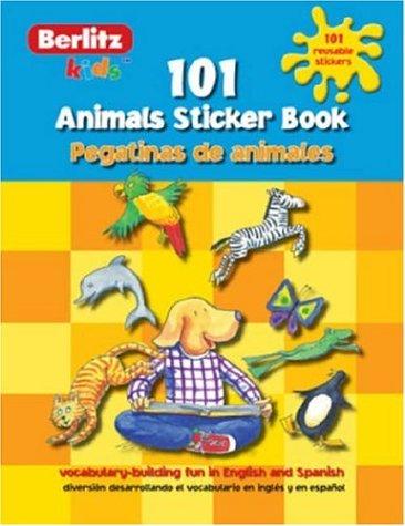 Spanish Animals Berlitz Kids Sticker Book (Berlitz Kids Sticker Books S.) por Chris Demarest