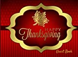 Welcome Guest each year with our beautiful landscape handy thanksgiving all in one guest book with Recipe Pages Product Details: Introductory first Page to adapt Motivational gratitude quote on each page Formatted lined and Blank Pages to wri...