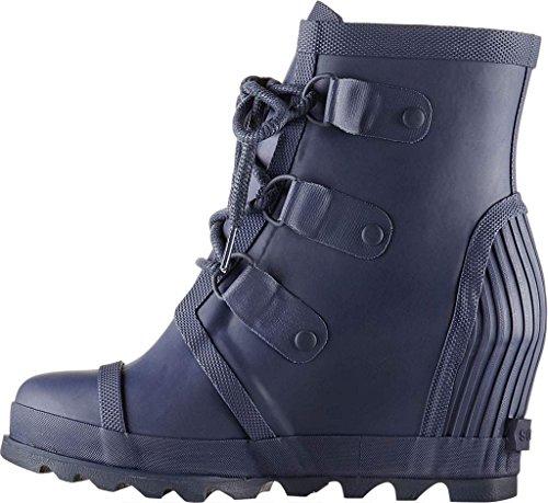 Winter Sorel Rain Black Joan Boot Wedge Women Nocturnal wwptnx