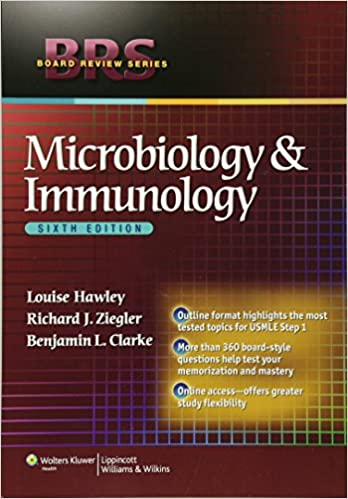 brs microbiology and immunology board review series louise hawley