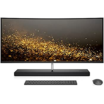 HP ENVY 34-b010 34-inch Curved All-in-One Computer (Intel Core i7-7700T, AMD Radeon RX 460, 16GB RAM, 1TB hard drive, 256GB SSD, Windows 10), Silver