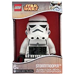 LEGO STAR WARS STORMTROOPER FIGURE ALARM CLOCK BRAND NEW IN BOXED