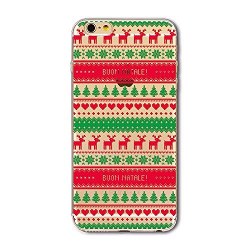Christmas Greeting iPhone SE 5SE 5 5S Navidad Serie Funda, TOTOOSE Ultra Slim Fit prueba de golpes TPU Teléfono de Nuevo caso protector de Cubierta para iPhone iPhone SE 5SE 5 5S -Botas verdes Patrón de rayas