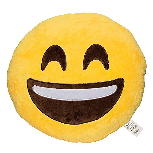 EvZ Smiley Emoticon Cushion Stuffed product image