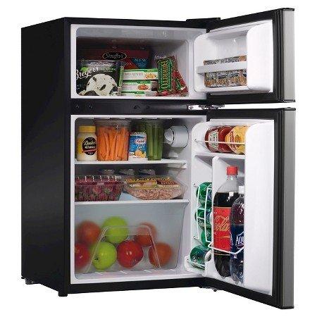Whirlpool 3.1 Cu. Ft. Mini Refrigerator - Stainless Steel BC