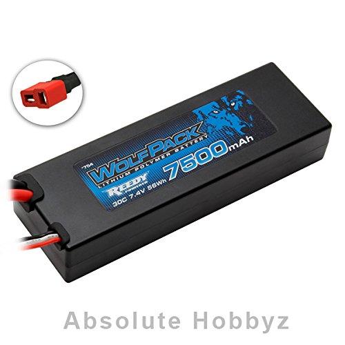 (Team Associated Reedy Wolfpack Gen2 2S 30C Hard Case Li-Poly Battery Pack (7.4V/7500mAh))