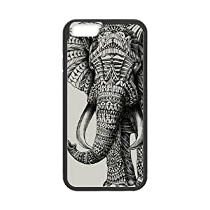 Futefew Mobile Phone Shell Lucky Indian Elephants Pattern Case for Iphone6 4.7