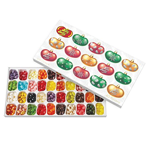 Review Jelly Belly 40 Flavors Jelly Beans Christmas Gift Box