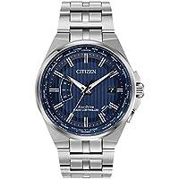 Citizen World Perpetual A-T World Time Blue Dial Men's Watch