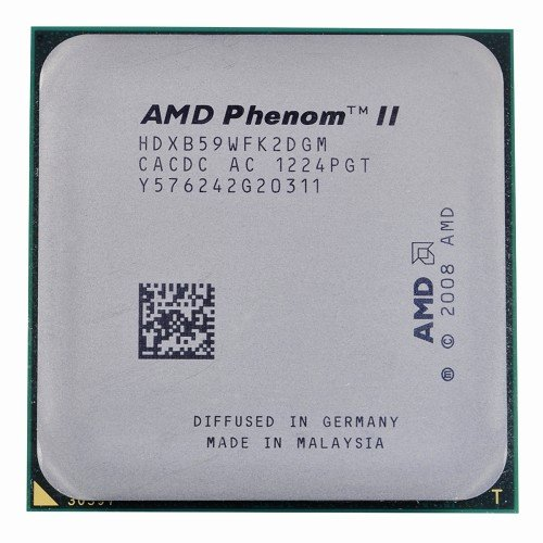 (AMD Phenom II X2 B59 3.4GHz 2x512KB/6MB L3 Socket AM3 Dual-Core CPU)