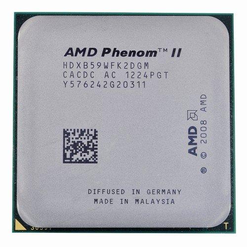 Dual Core 2x512kb L2 Cache - AMD Phenom II X2 B59 3.4GHz 2x512KB/6MB L3 Socket AM3 Dual-Core CPU