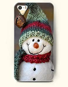 OOFIT iPhone 4 4s Case - A Happy Hand Made Snowman
