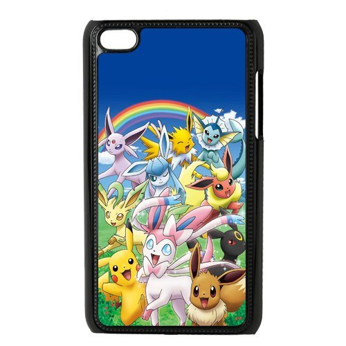 Case.Store-Pikachu Phone Case Customized Hard Snap-On Plastic Case for iPod Touch 4, 4th Generation Cases iPod 4 TY067 (4th Ipod Generation Case Pikachu)