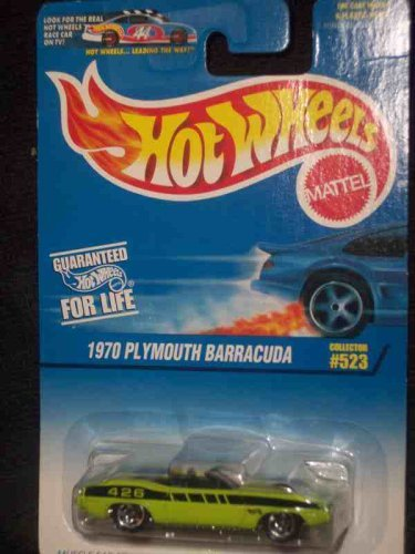 1997 First Editions #8 1970 Plymouth Barracuda Silver Floorboards 97 Card #523 Mint by Hot -