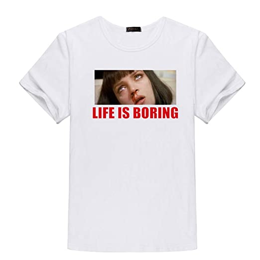 YXTZS Tops de Mujer Top de Verano de Camiseta de algodón Estampado ...