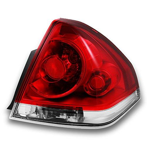 For Chevy Impala Replacement Red Clear Tail Light Passenger Right Side Rear Brake Lamps