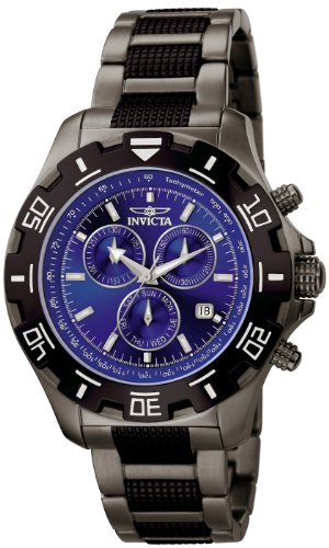 Price comparison product image Invicta Men's 6411 Python Collection Chronograph Gun Metal Stainless Steel Watch