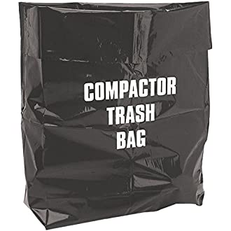 Whirlpool W10165295BU 15-Inch Plastic Compactor Bags with Odor Remover 180-Pack