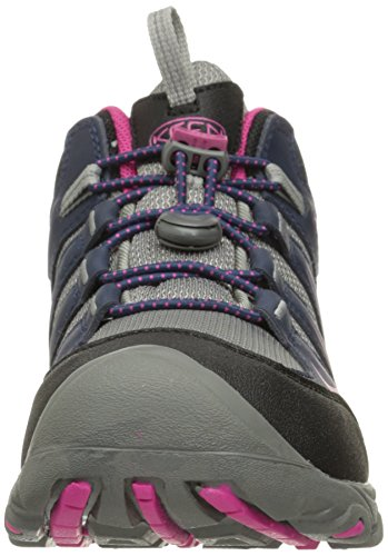 Keen Oakridge Mid Wp, Scarpe da Arrampicata Unisex-Bambini, Multicolore (Dress Blues/Very Berry), 38 EU